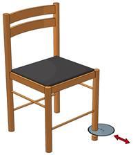 Станок для выравнивания ножек стульев US/1C